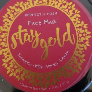 Stay Gold Face Mask